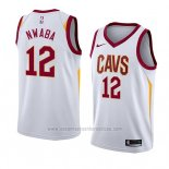 Camiseta Cleveland Cavaliers David Nwaba #12 Association 2018 Blanco