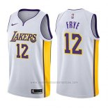 Camiseta Los Angeles Lakers Channing Frye #12 Association 2017-18 Blanco