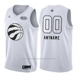 Camiseta All Star 2018 Toronto Raptors Nike Personalizada Blanco
