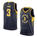 Camiseta Indiana Pacers Joe Young #3 Icon 2018 Azul