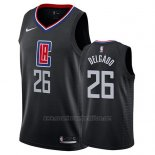 Camiseta Los Angeles Clippers Angel Delgado #26 Statement 2019 Negro