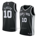Camiseta San Antonio Spurs Demar Derozan #10 Icon 2017-18 Negro