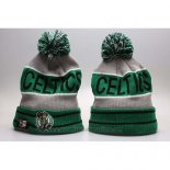 Gorro Beanie Boston Celtics Gris Verde