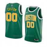 Camiseta Boston Celtics Earned 2018-19 Verde Personalizada