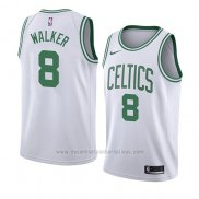 Camiseta Boston Celtics Kemba Walker #8 Association 2019-20 Blanco