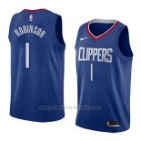 Camiseta Los Angeles Clippers Jerome Robinson #1 Icon 2018 Azul