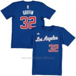 Camiseta Manga Corta Blake Griffin Los Angeles Clippers Azul