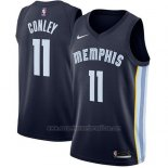 Camiseta Memphis Grizzlies Mike Conley Jr. #11 2017-18 Azul.
