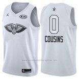 Camiseta All Star 2018 New Orleans Pelicans Demarcus Cousins #0 Blanco