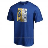 Camiseta Manga Corta Golden State Warriors 2019 Western Conference Champions Team Identity Azul