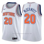 Camiseta New York Knicks Doug McDermott #20 Statement 2017-18 Blanco