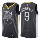 Camiseta Golden State Warriors Andre Iguodala #9 Statement 2017-18 Negro
