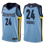 Camiseta Memphis Grizzlies Dillon Brooks #24 Statement 2017-18 Azul