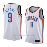 Camiseta Oklahoma City Thunder Jerami Grant #9 Association 2018 Blanco