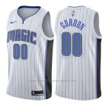 Camiseta Orlando Magic Aaron Gordon #00 Association 2017-18 Blanco