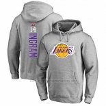 Sudaderas con Capucha Brandon Ingram Los Angeles Lakers Gris