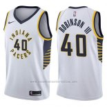 Camiseta Indiana Pacers Glenn Robinson Iii #40 Association 2017-18 Blanco