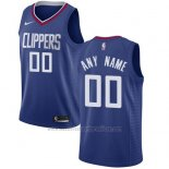 Camiseta Los Angeles Clippers Nike Personalizada 17-18 Azul
