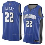 Camiseta Orlando Magic Jerian Grant #22 Icon 2018 Azul