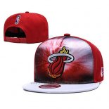 Gorra Miami Heat 9FIFTY Snapback Rojo